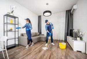 Enostavno do čistega stanovanja ali hiše